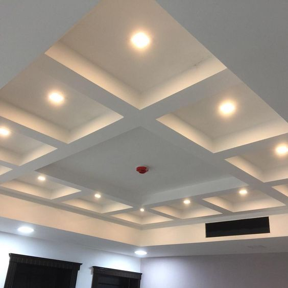 Gypsum Board Coffered Ceiling Design Ideas 2018 How To Install