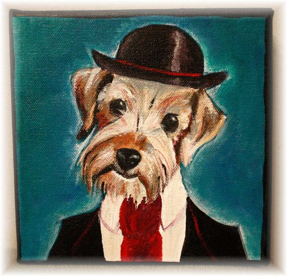 Shop for dandy pet portraits at my friend Kate's Etsy Store, DandyPetPortraits! you wont regret it. Just look at that dog!