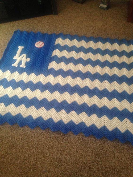 LA Dodgers blanket!
