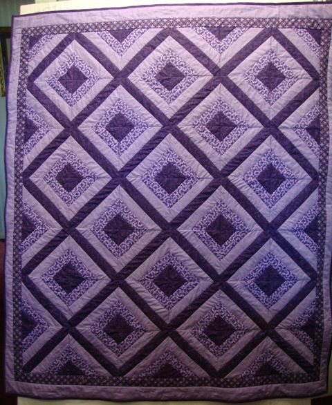 17 Best images about lavender quilts on Pinterest | Batik quilts ... : quilt purple - Adamdwight.com