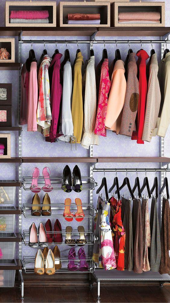 Organize Bedroom Closet Amusing Inspiration