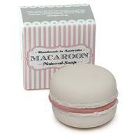 Vanilla Rose Macaroon Soap