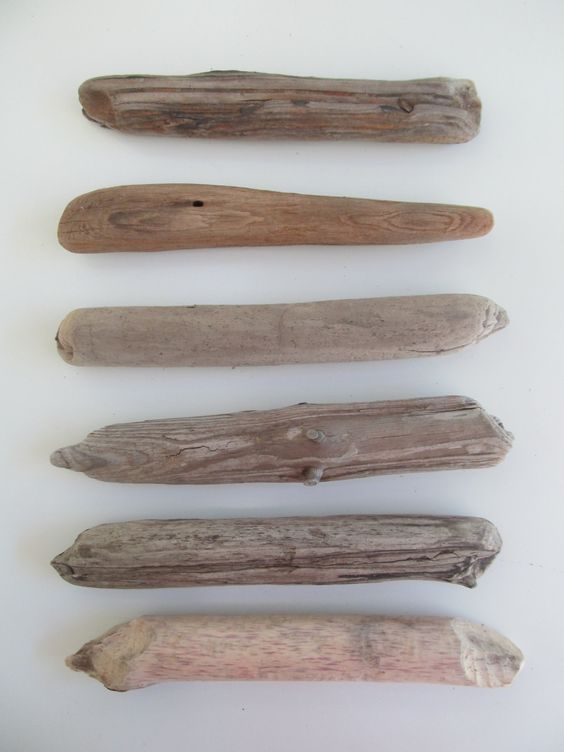 Driftwood Supply. 6 Fat Driftwood Pieces Crafting Sticks Drift Wood Art. 8-9 Inch Drift Wood Pieces by LonelyBeach on Etsy