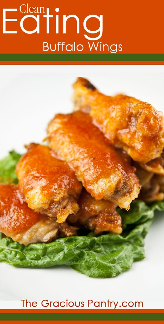 Clean Eating Spicy Buffalo Wings