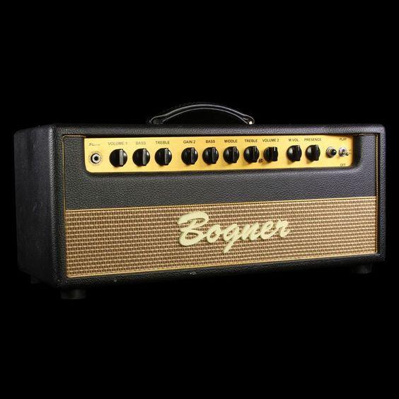 Used Bogner Shiva EL34 80 Watt Guitar Amplifier Head