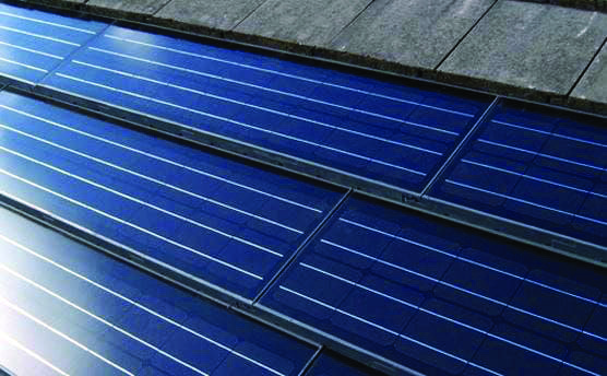 Conveniences And Drawbacks Of Solar Roof Tiles That You Need To Understand About Homes Tre Solar Panels Solar Roof Solar Roof Tiles