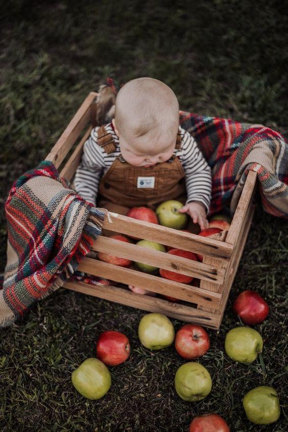 Осенние фото ребенка | Впервые мама - first-time-mama.ru