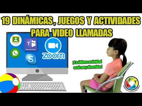 24 19 Dinámicas Y Juegos Divertidos Para Niños En Zoom Videollamada Que Puedes H Juegos Divertidos Para Niñas Juegos Para La Escuela Emociones Preescolares