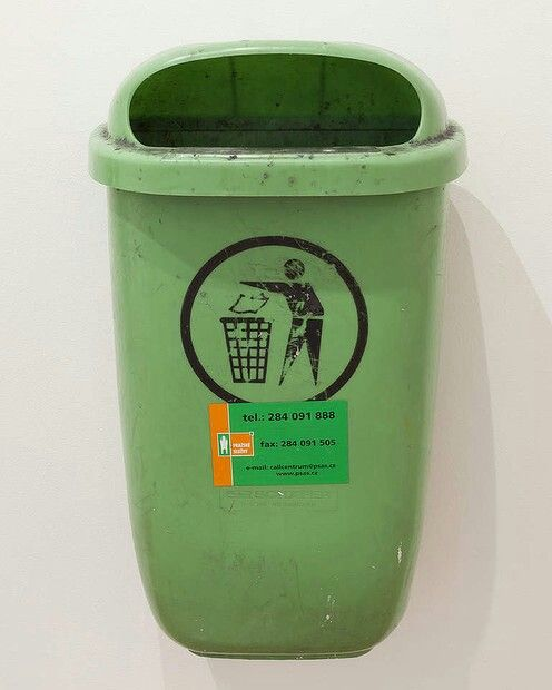 Klara Lidén, 'Untitled (trashcan)' 2011, private collection, Sydney.