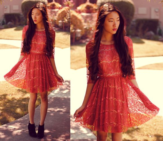 Red Dress Inspiration For Chinese New Year