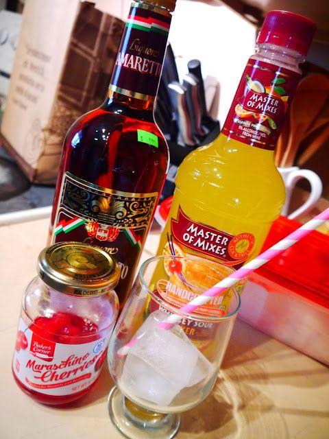 Western New Yorker: Recipe: Amaretto Sour Drink