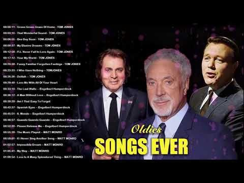 Tom Jones Elvis Presley Matt Monro Engelbert The Cascades