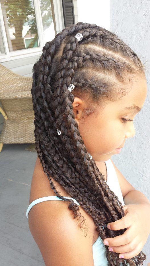Cornrows Box Braids Metal Cuffs Oh My Braided Hairstyles