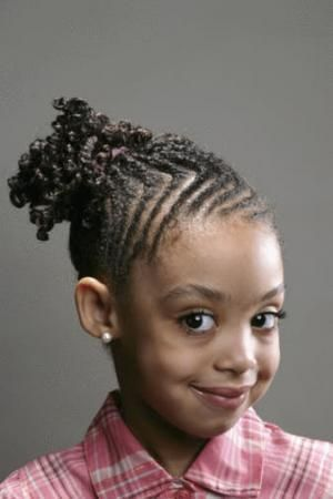 Awe Inspiring Cute Cornrow Styles For Girls Braided Hairstyles For Little Hairstyles For Women Draintrainus