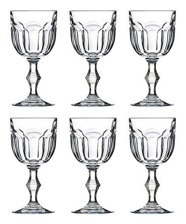 Loving this Provenza Stemmed Crystal Goblet - Set of Six on #zulily! #zulilyfinds