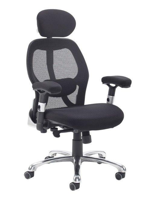Mesh Office Chair Black Sandro Ergonomic Office Chair Snd300k2 K