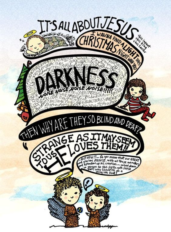 """2010 Christmas Illustration for """"25 Days of Christmas"""" by the Headpiece filled with Straw Blog"""