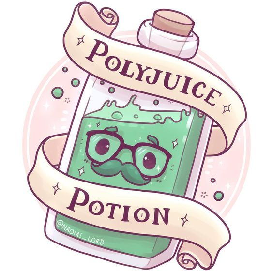 "1,628 Likes, 31 Comments - Naomi Lord (@naomi_lord) on Instagram: ""Polyjuice potion! Gave it those little disguise glasses that have a moustache attached to them…"""