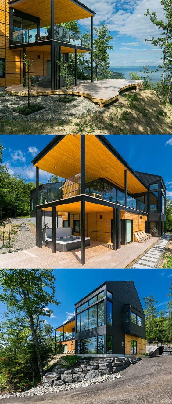 Pin by Sylvie Boivin on chalet a louer Pinterest - orientation maison sur terrain