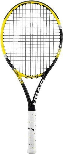 """Head YouTek IG Extreme Pro Tennis Racquet-Unstrung (U30) by HEAD. Save 55 Off!. $84.95. The YouTek IG Extreme Pro provides all of the extra touch, power and spin you need for an aggressive long swing style. This latest Extreme includes Head's new Innegra technology which improves stability, increases shock absorption and reduces vibration on ball impact by 17%. Beam: 24/26/23. Head Size: 100. Weight: 11.1oz. Balance: Head Light. Length: 27"""". Swing Style: L3. String Pattern: ..."""