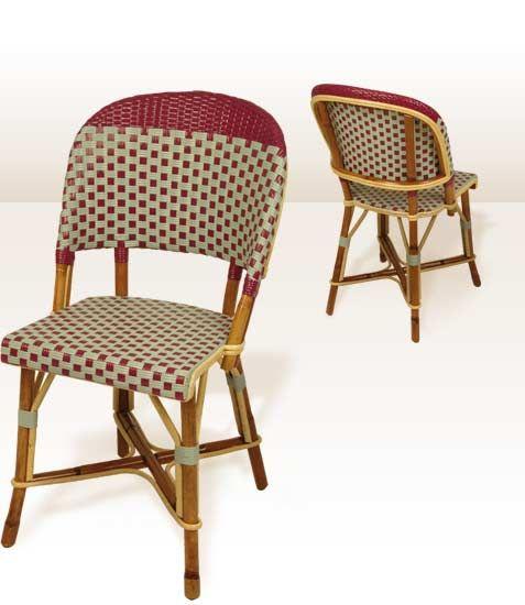 chaise bistrot parisien longchamp drucker garden pinterest. Black Bedroom Furniture Sets. Home Design Ideas