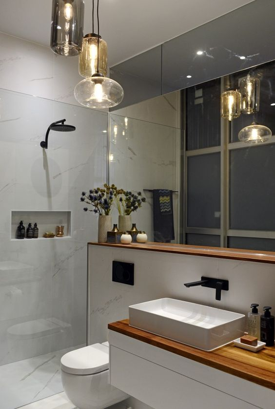 The block glasshouse ensuite week the block 2014 pinterest toilets bathroom layout and tile - Ultimate guide to bathroom corner bath ideas for your small room ...