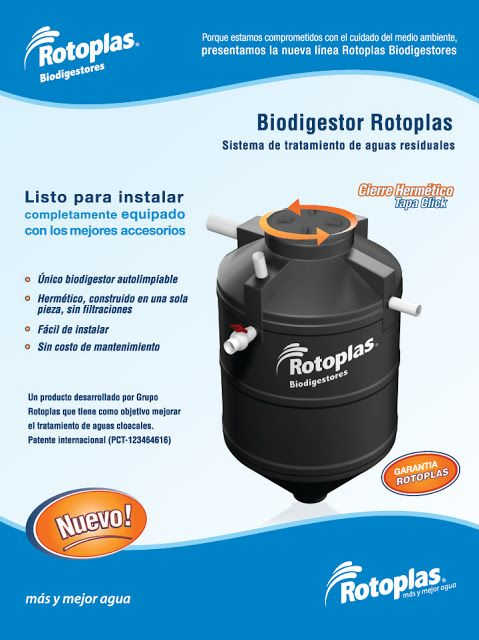 Productos biodigestores agricultura urbana pinterest ps - Productos para fosas septicas ...