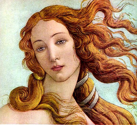 The Birth of Venus (detail), Sandro Botticelli, ca.1485-86