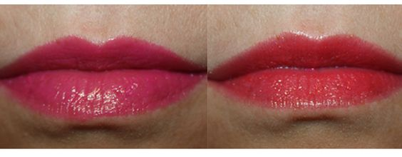 IsaDora Twist-Up Gloss Sticks 05 Pink Punch och 07 Coral Cocktail
