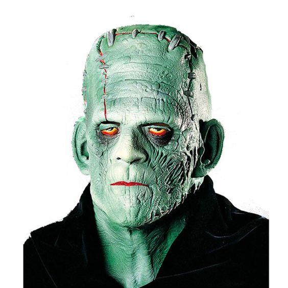 Careta de Frankenstein #mascaras #antifaces #carnaval