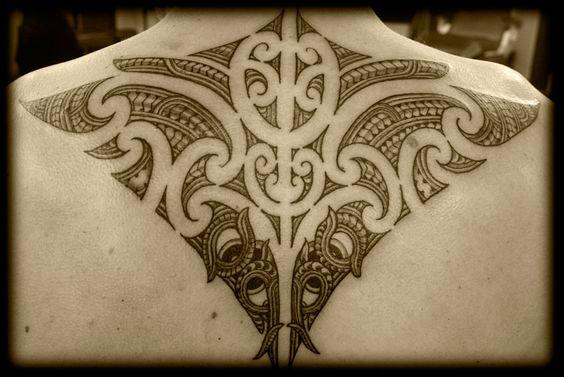 custom new zealand kirituhi ta moko pacific tribal maori back shoulder tattoo design new. Black Bedroom Furniture Sets. Home Design Ideas