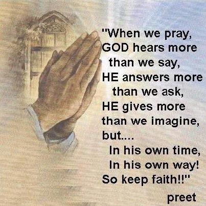 When we Pray:)