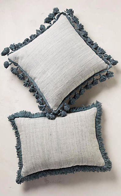 Falling Fringe Pillow #anthrofave