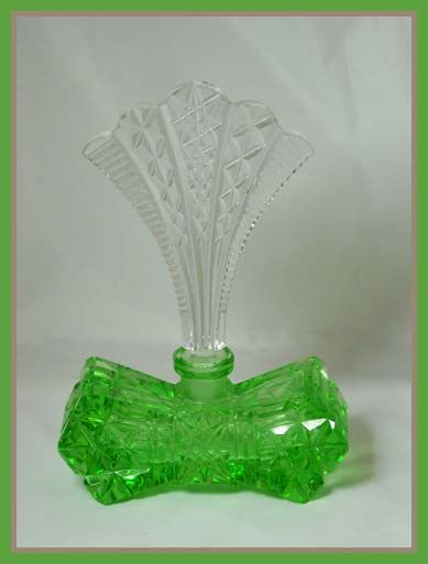 Art Deco Czech perfume bottle.