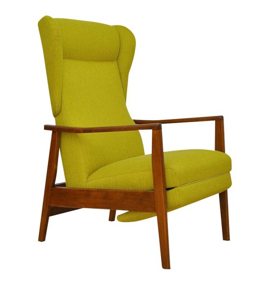 Check Out The Deal On Mid Century Armchair With Footrest At Eco First Art Custom Made Furniture Mid Century Armchair Eco Friendly Furniture