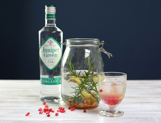 Rosemary & Pomegranate Infused Gin Recipe   Abel & Cole