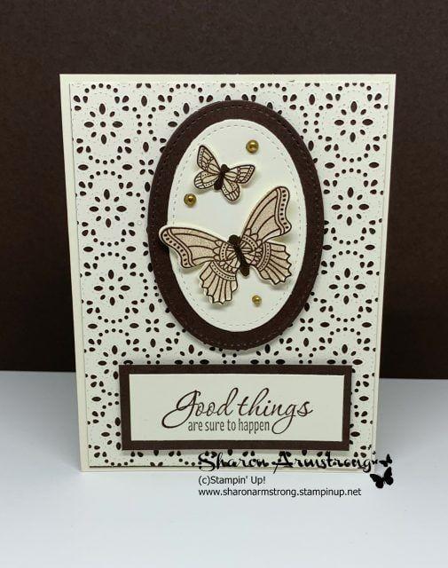 2 Handmade greeting cards Stampin/' Up!