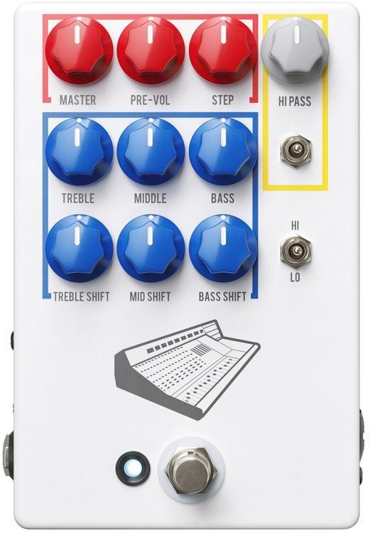 Jhs Colour Box V2 Preamp Pedal In 2020 Color Box Signature Sound Pedalboard