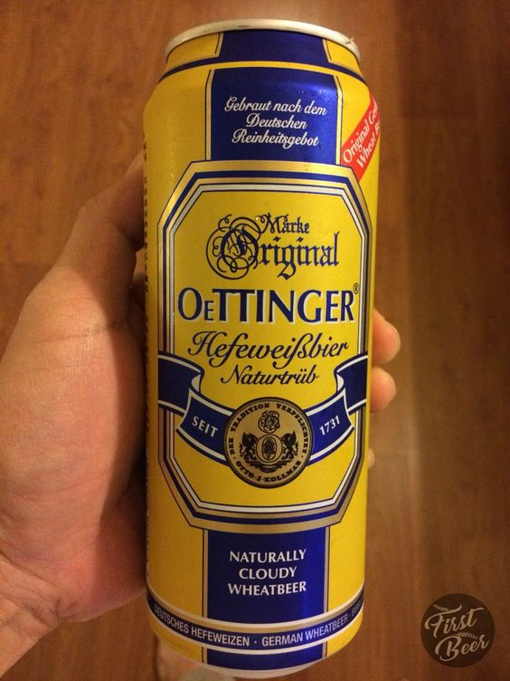 Bia Oettinger Béo lon 500ml tphcm