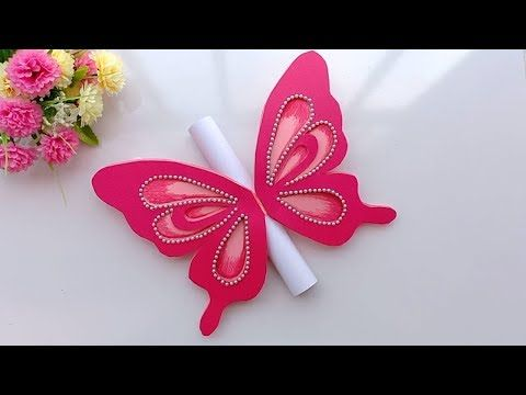 How To Make Special Butterfly Birthday Card For Best Friend Diy Gift Idea Yout Butterfly Birthday Cards Greeting Cards Handmade Birthday Butterfly Birthday