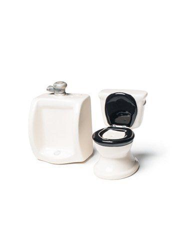 Salz und Pfefferstreuer - The Toilet Set