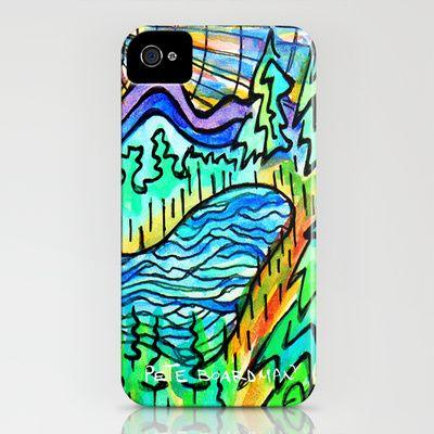 HIKERS REWARD iPhone Case by Pete Boardman - $35.00
