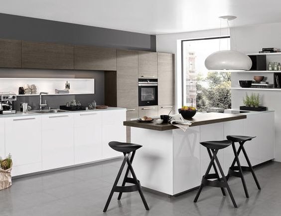 Inspirational K chenideen moderne Inspirationen nolte kuechen de K cheninspirationen Pinterest Kitchens Modern and Small spaces