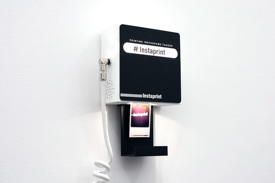 Instaprint: A Networked Photobooth For Printing Instagram Pics At Parties | Co.Design: business + innovation + design