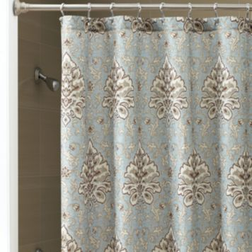 Chapel Hill by Croscill Savannah Fabric Shower Curtain ...