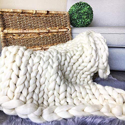 Enjoying The Merino Wool Blanket 3 On Sale Near Me Ideas Merino Wool Blanket Huge Knitted Blanket Thick Yarn Blanket