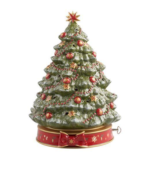 Villeroy Boch Christmas Tree Music Box Christmas Tree Music Box Christmas Tree Decorations Christmas Ornaments