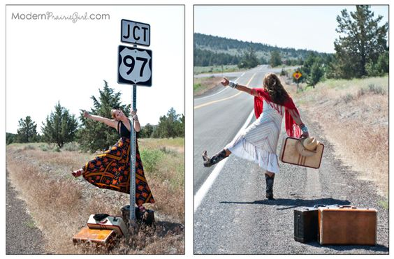 Highway 97 on our Ignited Heart road trip