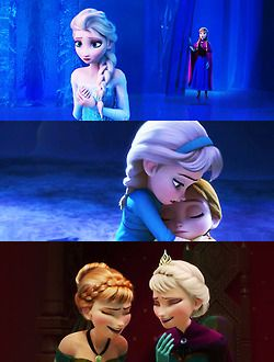 Anna and Elsa ~ Frozen