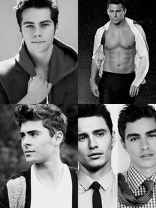 Dylan o brian channing tatum zac efron james franco and dave franco